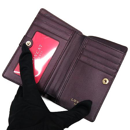 LOVCAT(러브캣) 로고 장식 페이던트 반지갑 이미지4 - 고이비토 중고명품