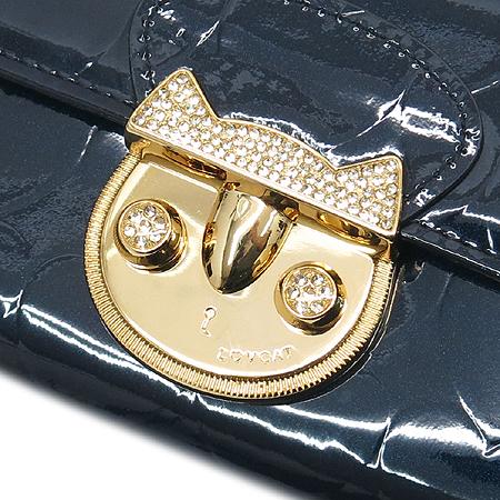 LOVCAT(러브캣) 로고 장식 페이던트 중지갑 이미지5 - 고이비토 중고명품