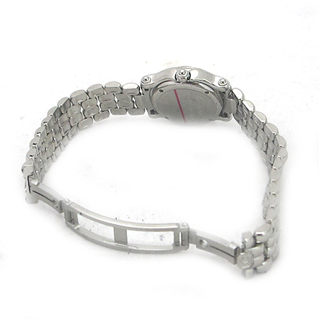 Chopard(쇼파드) 해피 스포츠(HAPPY SPORT) 3포인트 무빙 다이아 FISH 장식 스틸  여성용 시계