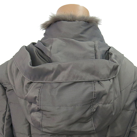 VOV(보브) 후드 오리털 점퍼 (배색:여우털 100)
