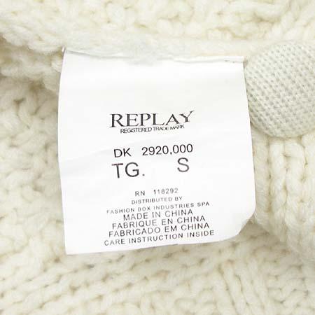 REPLAY(리플레이) 니트 조끼 이미지4 - 고이비토 중고명품