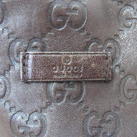 Gucci(구찌) 197954 GG 로고 시마 레더 쇼퍼 숄더백