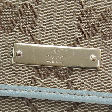 Gucci(구찌) 131886 GG로고 자가드 카드 명함 지갑