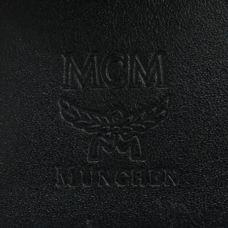 MCM(엠씨엠) 프린세스 라이온 블랙 비세토스 짚업 반지갑
