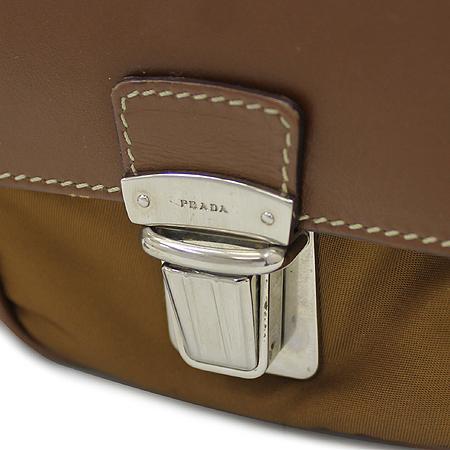 Prada(프라다) 측면 삼각 로고 장식 2포켓 패브릭 토트백 이미지3 - 고이비토 중고명품