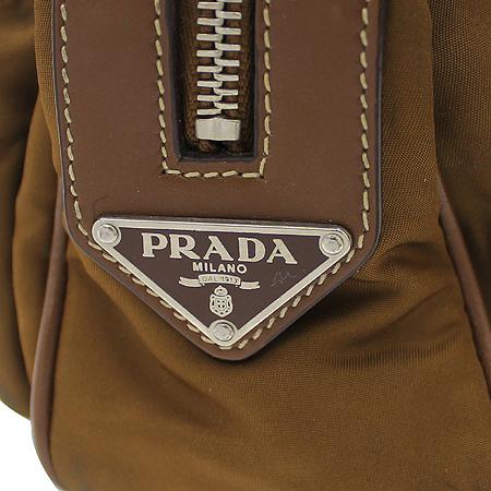 Prada(프라다) 측면 삼각 로고 장식 2포켓 패브릭 토트백 이미지4 - 고이비토 중고명품