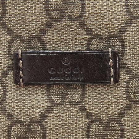 Gucci(구찌) 211110  GG로고 PVC 짚업 힙색 [명동매장]