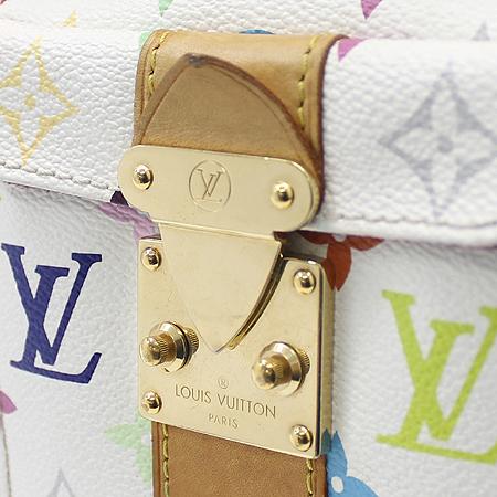 Louis Vuitton(루이비통) M92643 모노그램 멀티 화이트 스피디30 토트백 이미지4 - 고이비토 중고명품
