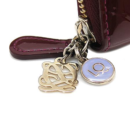 Louis_Quatorze (루이까또즈) 로고 페이던트 짚업 장지갑