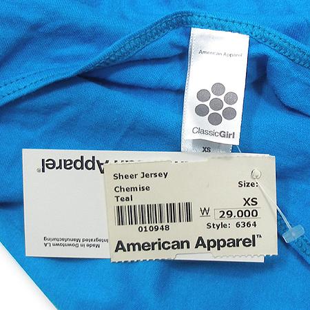 American Apparel(아메리칸 어페럴) 끈나시