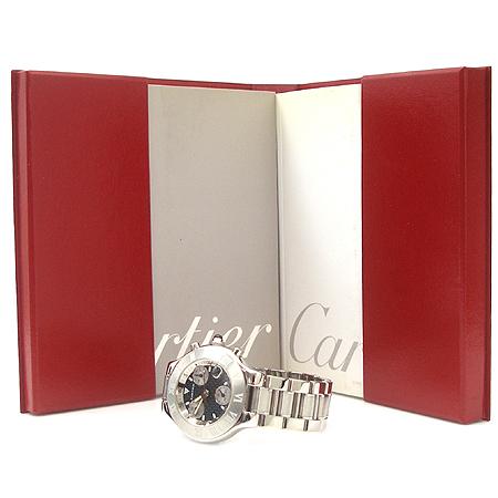 Cartier(��쿡) 21���� ũ�γ� ��ī�� 38MM S/S ������ �ð�