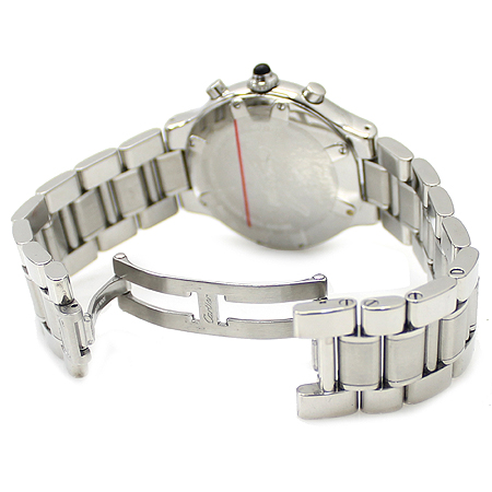 Cartier(까르띠에) 21세기 크로노 스카프 38MM S/S 남성용 시계