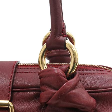 Marc_Jacobs (마크 제이콥스) 버건디 컬러 투포켓 베네치아 토트백 [강남본점] 이미지3 - 고이비토 중고명품