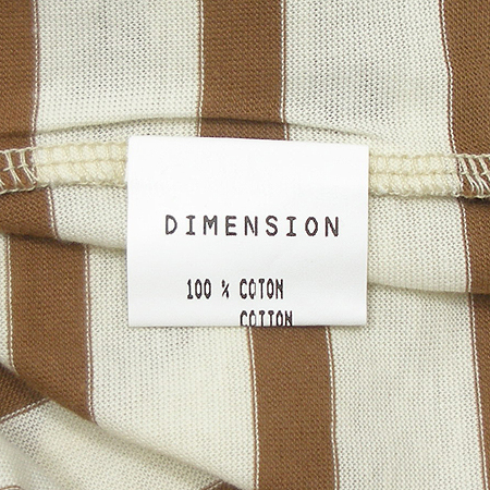 DIMENSION(디멘션) 브이넥 티 (MADE IN FRANCE)