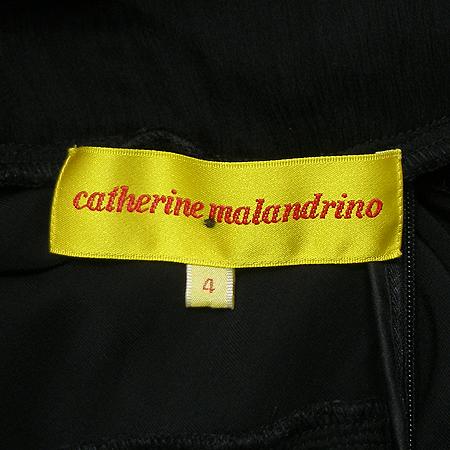 catherine malandrino(케서린말란드리노) 실크 혼방 나시 원피스