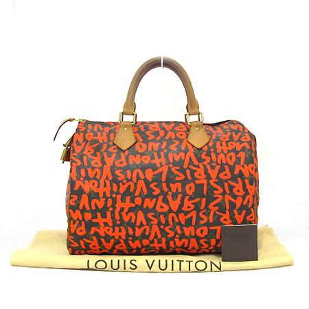 Louis Vuitton(루이비통) M93705 모노그램 캔버스 그래피티 스피디30 토트백 [부천 현대점]