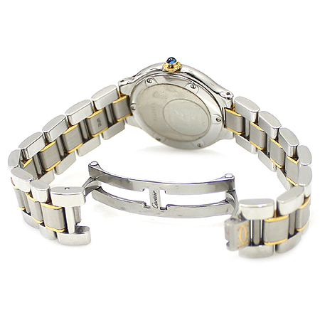 Cartier(까르띠에) W10073R6 21세기 18K 콤비 여성용 시계 [명동매장]