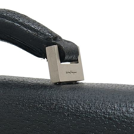 Ferragamo(페라가모) FB-24 1006 은장 버클 블랙 래더 서류가방