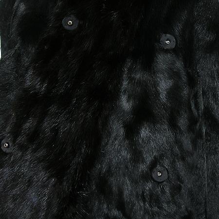Obzee(오브제) 밍크 염소털 롱 코트 (배색: 밍크 100) 이미지3 - 고이비토 중고명품