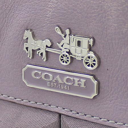 Coach(코치) 12947 은장 로고 옵아트 자가드 토트백 + 숄더스트랩 [대구반월당본점] 이미지5 - 고이비토 중고명품