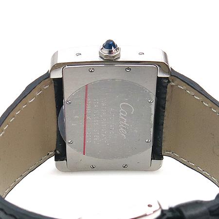 Cartier(까르띠에) W6300755 탱크 DIVAN(디반) 오토매틱 가죽밴드 남여공용 시계 [강남본점] 이미지4 - 고이비토 중고명품