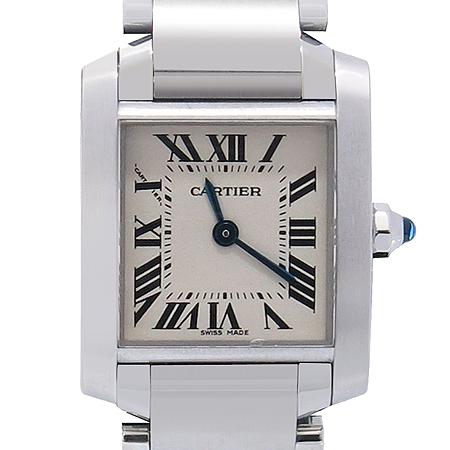 Cartier(까르띠에) W51008Q3 탱크 S사이즈 쿼츠 스틸밴드 여성용 시계 [압구정매장]