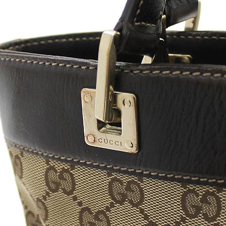 Gucci(구찌) 145994 GG 로고 자가드 바겟 숄더백 이미지4 - 고이비토 중고명품