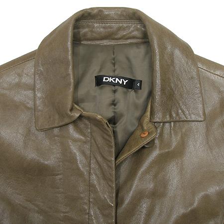 DKNY(도나카란) 양가죽 자켓 (허리끈 set)