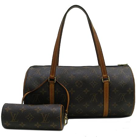 Louis Vuitton(루이비통) M51385 모노그램 캔버스 파필론 30 토트백 + 보조파우치