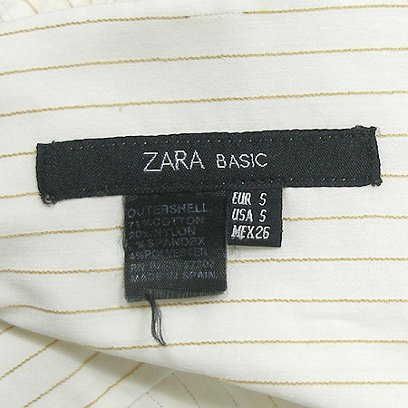 ZARA(자라) 반팔 브라우스