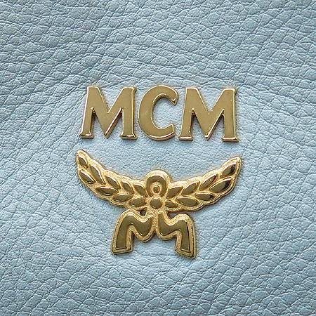 MCM(엠씨엠) 금장 로고 장식 스카이 래더 토트백 + 보조 스트랩