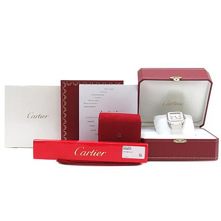 Cartier(까르띠에) W20122U2 산토스100 주년기념 오토매틱 시계