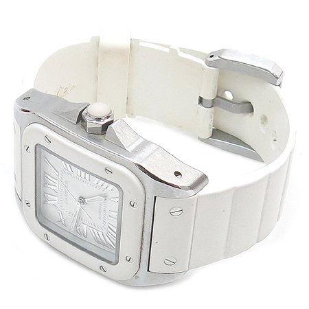 Cartier(��쿡) W20122U2 ���佺100 �ֳ��� �����ƽ �ð�
