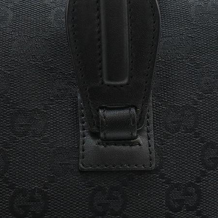Gucci(구찌) 90677 GG로고 블랙 패브릭 토트백