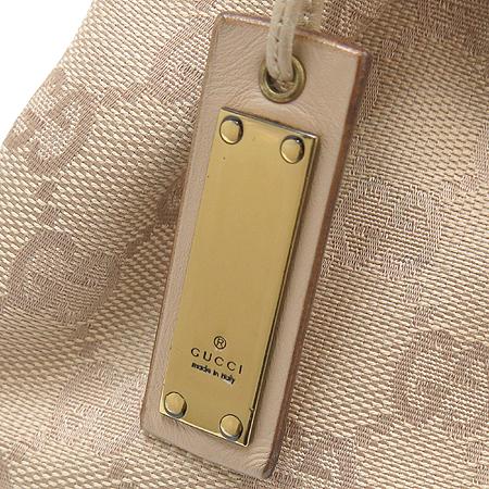 Gucci(구찌) 92708 아이보리 컬러 자가드 뱀부 숄더백 이미지4 - 고이비토 중고명품