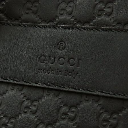 Gucci(구찌) 246392 AF66N 1060 시그니처 블랙 시마 레더 빅 토트백