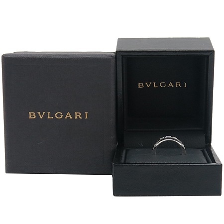 Bvlgari(불가리) AN853348 18K 화이트 골드 NEW BB 1포인트 다이아 반지-9호