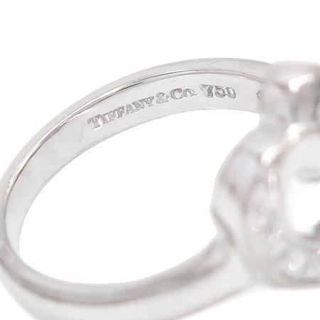 Tiffany(티파니) 18K(750) 화이트골드 파로마 피카소 러빙하트 10포인트 다이아 반지-9호