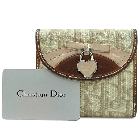 Dior(크리스챤디올) 하트 로고 장식 PVC 반지갑 [강남본점] 이미지3 - 고이비토 중고명품