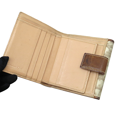 Dior(크리스챤디올) 하트 로고 장식 PVC 반지갑 [강남본점] 이미지4 - 고이비토 중고명품