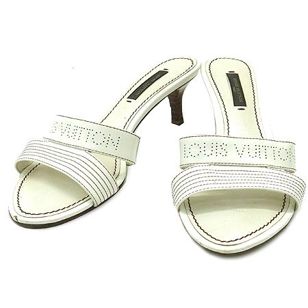 Louis Vuitton(루이비통) 이니셜 로고 장식 페이던트 래더 샌들 [부산본점]