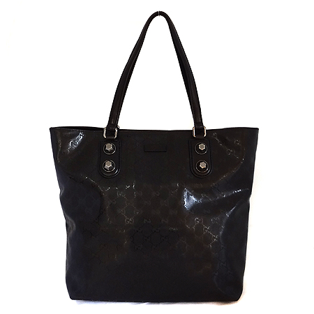 Gucci(구찌) 229848 GG로고 블랙 PVC 숄더백 [일산매장]