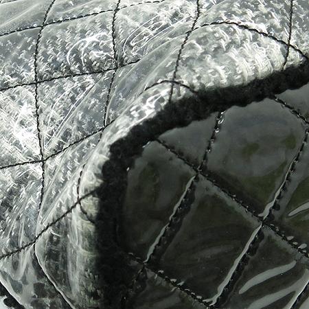 Chanel(샤넬) 시즌 한정판 트위드 패치워크 페이던트 은장 체인 쇼퍼 숄더백 [부산센텀본점] 이미지5 - 고이비토 중고명품