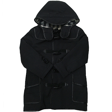 Burberry(버버리) 아동용 블랙 더플 코트
