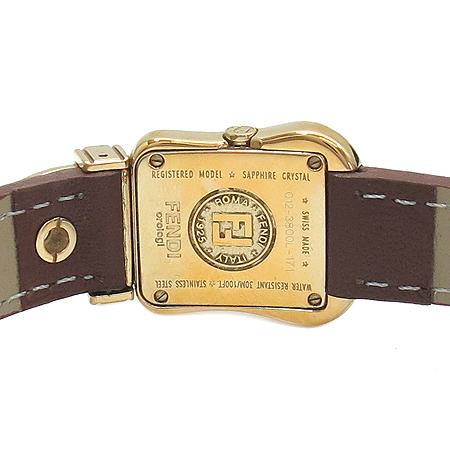 Fendi(펜디) F373241 B-FENDI 3800L 자개판 금장 가죽밴드 여성용 시계