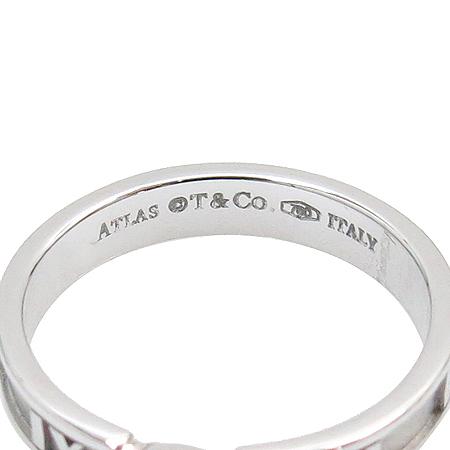 Tiffany(티파니) 18K 화이트 골드 아틀라스 1포인트 반지-10호 [동대문점]