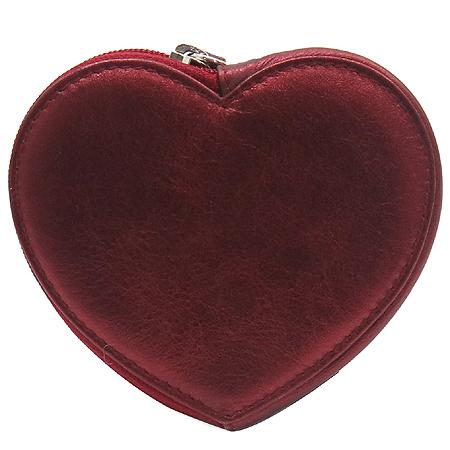 Ferragamo(페라가모) 22 A521 하트 메탈릭 동전 지갑