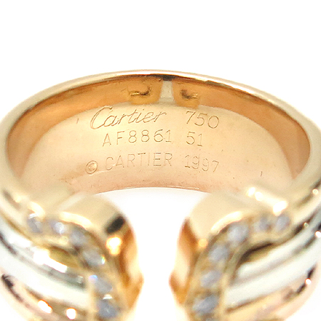 Cartier(��쿡) B4026400 18K ��� ��� ���� C �ΰ� L������ ���̾� ���� -11ȣ [�?����]