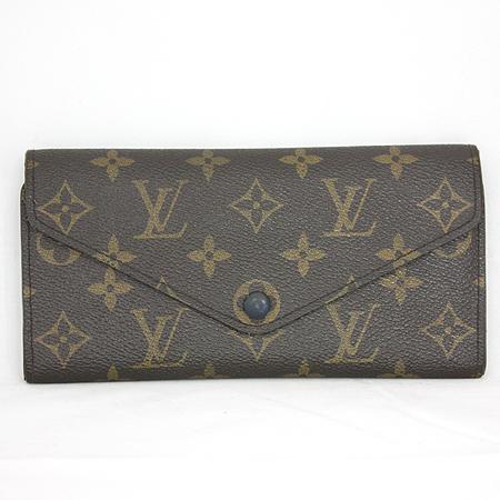 Louis Vuitton(루이비통) M60164 모노그램 캔버스 블루 조세핀 월릿 장지갑