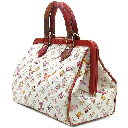 Louis Vuitton(루이비통) M95729 모노그램 한정판 워터 컬러 스피디 FRAME (프레임) 토트백 [명동매장]